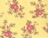 Lario Buttercup - Blooms Berries Yellow by 3 Sisters from Moda