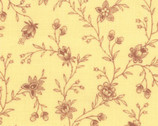 Lario Buttercup - Garden Vines Yellow by 3 Sisters from Moda