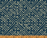 Midnight Blues - Geometric Indigo from Windham Fabrics