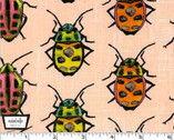 Flutter - Bugs Candy - Cotton Fabric by Laura Gunn from Michael Miller