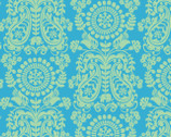 Global Bazaar Chimera Blue - Cotton Print Fabric from Blend Fabrics