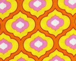 Pretty Little Things - Orange from Free Spirit Fabric