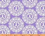 Project Pink - Purple Medallion by Rosemarie Lavin from Windham Fabrics