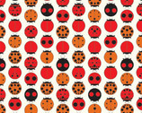 Charley Harper Knits - Ladybug - Organic Cotton Knit from Birch Fabric