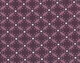 Simply Style - Eyelet Purple Eggplant by V and Co from Moda