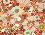 Chirp Chirp - Blooms Sunset Orange by MoMo from Moda