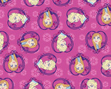 Disney Frozen Sister Set Heart - Flannel Fabric from Springs Creative