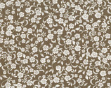 Chantilly - Taupe Small Flower from Timeless Treasures