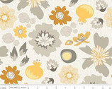 Lost and Found 2 - Main Gray Floral by My Mind's Eye from Riley Blake