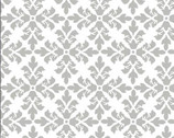 Andrea Victoria - Fleur de Leaf White from Wilmington Prints