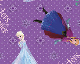 Disney Frozen - Sisters Forever Character Toss - Cotton Print Fabric from Springs Creative