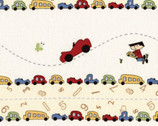 Vintage Play - Multi Cars by Susan Marth from Red Rooster Fabrics