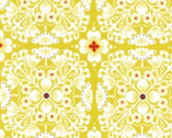 Pippa - Citron Yellow - Cotton Print Fabric from Michael Miller