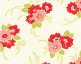 Miss Kate - Blossom Floral Cream by Bonnie & Camille from Moda