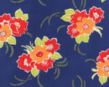 Miss Kate - Blossom Floral Navy by Bonnie & Camille from Moda