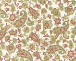 Sarah's Collection - Multi Paisley by Elm Creek Quilts from Red Rooster Fabrics