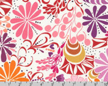 Ashton Road - Extract Floral by Valori Wells Cotton Print Fabric from Robert Kaufman