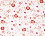 Bella Morocco Ciao Bella Cream Cotton Print Fabric from Benartex