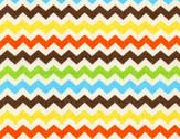 Zig - Fiesta Zig Zag Cotton Print Fabric from Timeless Treasures