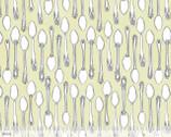 Tea Garden - Milk & Sugar Ivory - Cotton Print Fabric from Blend Fabrics