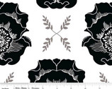 Mod Studio - Main White Floral by Holli Zollinger from Riley Blake