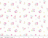 Sweet Home - Petals Multi Cotton Print Fabric by Melly & Me from Riley Blake