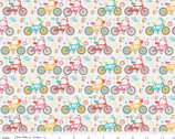 Girl Crazy - Bikes Cream by Designs by Dani from Riley Blake