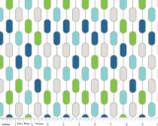 Little Ark - Stripe Multi from Riley Blake
