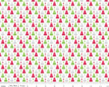 Home for the Holidays - Trees - Cotton FLANNEL Fabric by Doodlebug Designs from Riley Blake