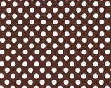 Ta Dot - Brown Cotton Print Fabric from Michael Miller