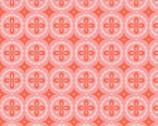 Meadow - Pinwheel - Organic KNIT Fabric from Monaluna