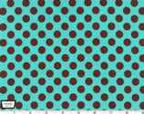Ta Dot - Azure Cotton Print Fabric from Michael Miller
