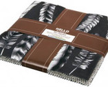 Black & White Collection - Precut Pack - 42 pieces, 10 inches by Jennifer Sampou from Robert Kaufman