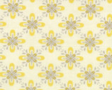 Baby Jane - Cream Mustard by Eric and Julie Cornstock from Moda