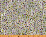Flirt - Textured Stripe Purple Orange by Another Point of View from Windham Fabrics