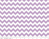 Cotton Chevron - Small Chevron Lavender from Riley Blake