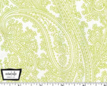 Posh Paisley - Celery Green from Michael Miller