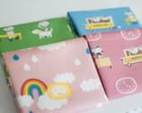 Puti De Pome Canvas Fabric Bundle - Fat Quarter Bundle - 4 quarter fat pieces