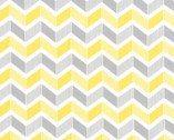 Mixologie - Zig Zag Yellow Grey Steel from Studio M from Moda