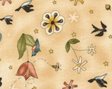 It's Elementary - Beige All Over Toss by Jacqueline Paton from Red Rooster