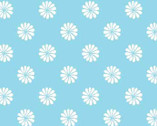 Monaco - Daisy Dot Aqua from Red Rooster