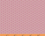 Forest Parade - Organic Cotton Print Fabric - Mini Flower Pink by Petit Collage from Windham Fabrics