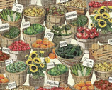 Farm Stand Scenic  from Windham Fabrics