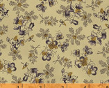 First Ladies - Pretty Floral Navy by Nancy Gere from Windham Fabrics