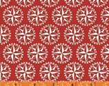 Sail Away - Compass Red by Rosemarie Lavin from Windham Fabrics