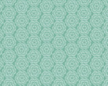 Tussie Mussie Turquoise Flowers from Blend Fabrics