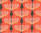 Helen's Garden - Pirouette Coral by Tamara Kate from Michael Miller