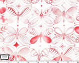Flight Patterns - Pattern Dancers Pink by Tamara Kate from Michael Miller