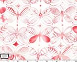 Flight Patterns - Pattern Dancers Pink by Tamara Kate from Michael Miller