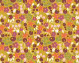 Meadow - Bitty Blooms - Organic Cotton Print Fabric from Monaluna